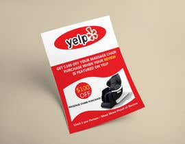 nº 92 pour FAST WORK - EASY MONEY - Design a Yelp Promotional Flyer par Jibonapon24