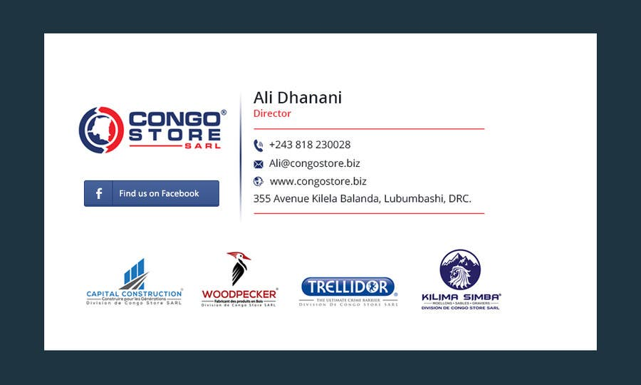 entry  8 by graphicgallery for design a corporate email signature