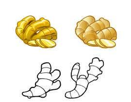 Nro 44 kilpailuun Illustrate ginger! käyttäjältä hotxman