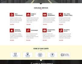 nº 26 pour Design a Website Mockup for Lawyer par webidea12