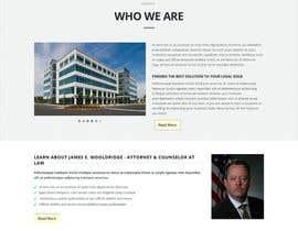 nº 6 pour Design a Website Mockup for Lawyer par princevenkat