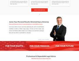 nº 19 pour Design a Website Mockup for Lawyer par Stunja