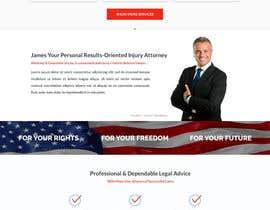 nº 33 pour Design a Website Mockup for Lawyer par Stunja