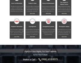 nº 34 pour Design a Website Mockup for Lawyer par RukonAhmed