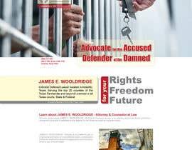 nº 31 pour Design a Website Mockup for Lawyer par adrinfattahi