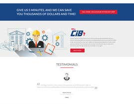 Nro 36 kilpailuun Design a Website Mockup for Commercial Builders käyttäjältä sudpixel