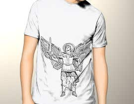 nº 46 pour T-Shirt Design:  Catholic Saint Michael the Archangel par KreativeDesignZ