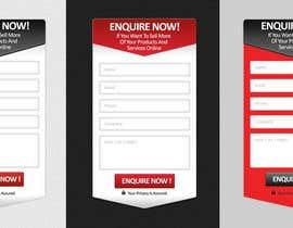 nº 12 pour I need some form widget designed for my website sidebar par Margaritafree
