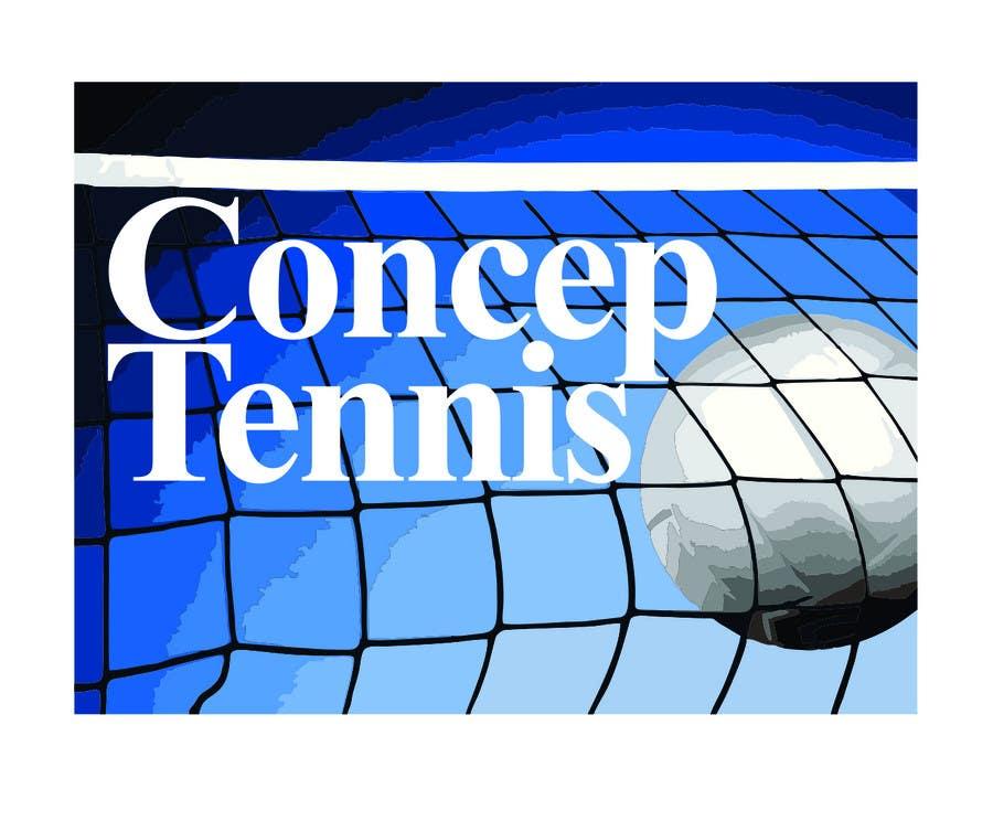 Kilpailutyö #445 kilpailussa Logo Design for ConcepTennis