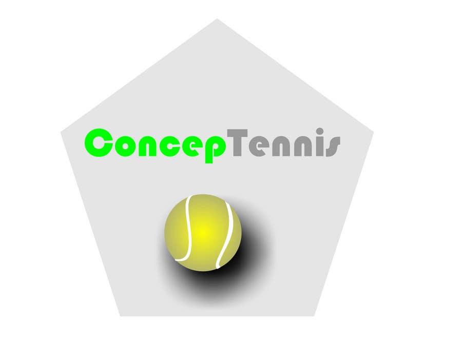 Kilpailutyö #536 kilpailussa Logo Design for ConcepTennis
