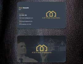 nº 122 pour Design Business Cards par Arif2646
