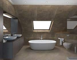nº 9 pour Design a modern bathroom par vzivanovic88
