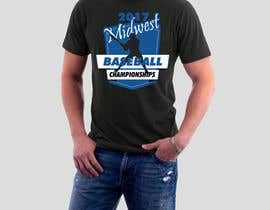 nº 26 pour Baseball Tournament Tee Shirt Designed par enymann