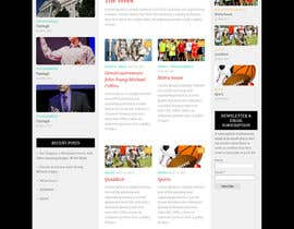#34 for Create a WordPress Template by greatway23