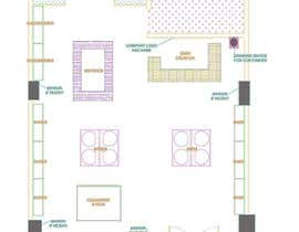 nº 18 pour To Make A store layout by Autocad par ShreeDesigners