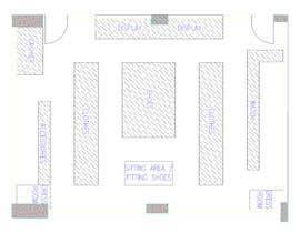 nº 7 pour To Make A store layout by Autocad par endeperdian