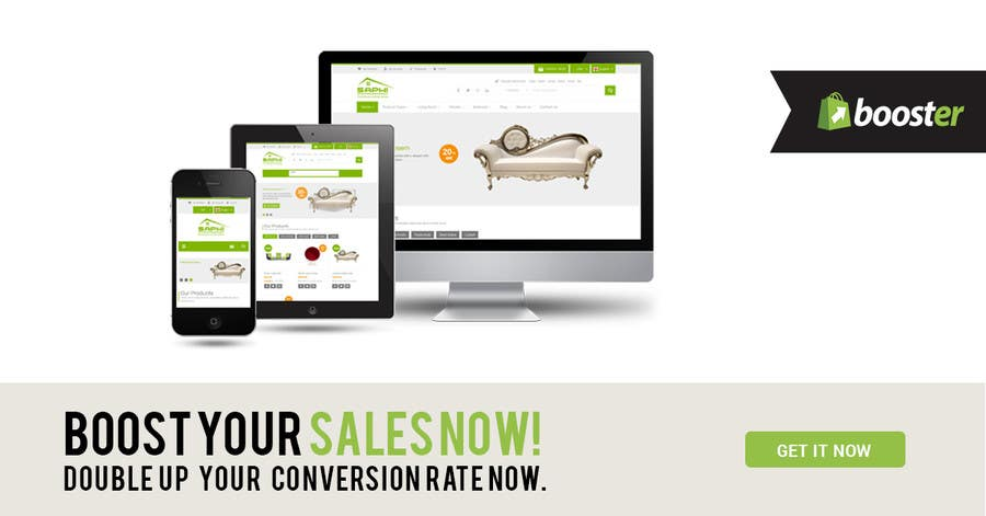 Proposition n°11 du concours Design an Advertisement for our website template business