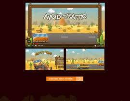nº 14 pour Design a Website Mockup for Dream Game Studio par evanceflores