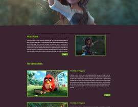 nº 34 pour Design a Website Mockup for Dream Game Studio par aminurtopu