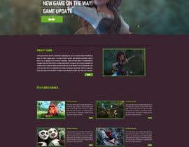 nº 38 pour Design a Website Mockup for Dream Game Studio par aminurtopu