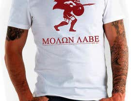 nº 54 pour Design Spartan Soldier - Molon Labe par SCategory