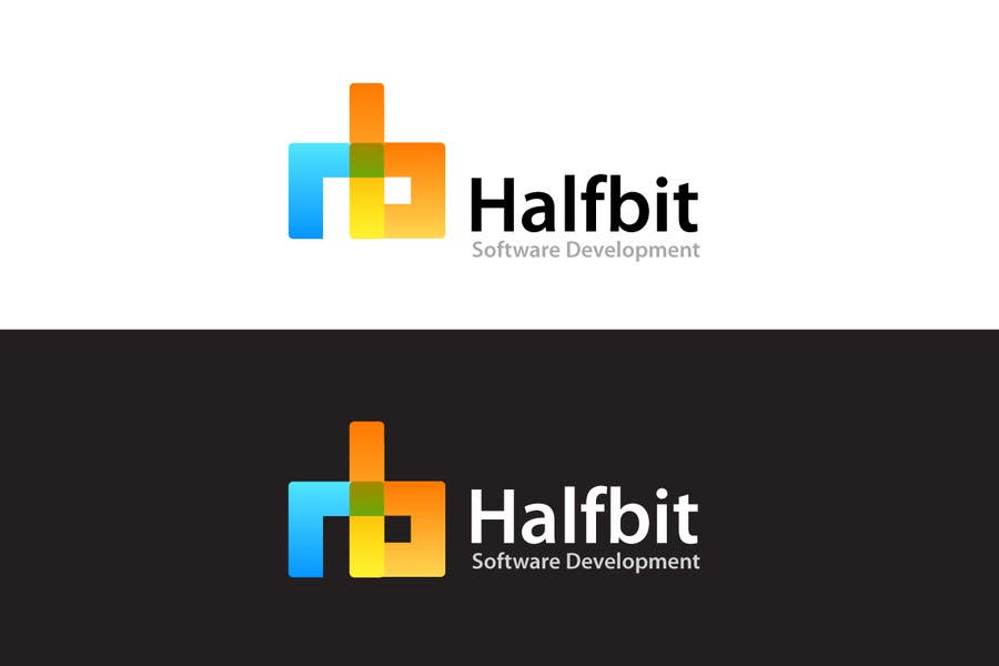 #463 for Logo Design for HalfBit by praxlab