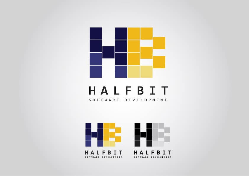 #236 for Logo Design for HalfBit by RGranston