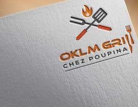 nº 72 pour Logo OKLM grill par ataurbabu18