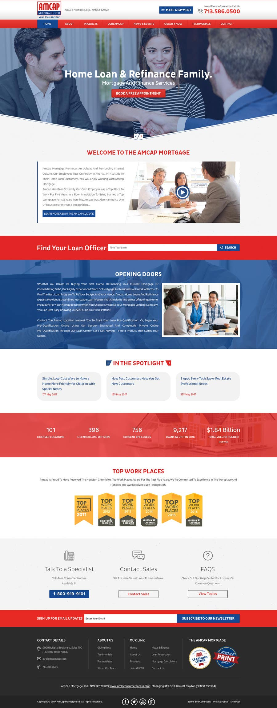 Proposition n°7 du concours Design a Website Mockup - HOMEPAGE ONLY - for a Mortgage Company
