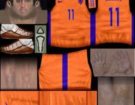 nº 9 pour Create 32 texture files for football kits (PNG) par JulioEdi