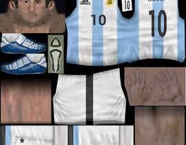 nº 13 pour Create 32 texture files for football kits (PNG) par JulioEdi