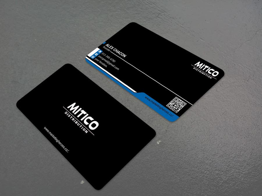 Proposition n°113 du concours Design some Business Cards for Mitico