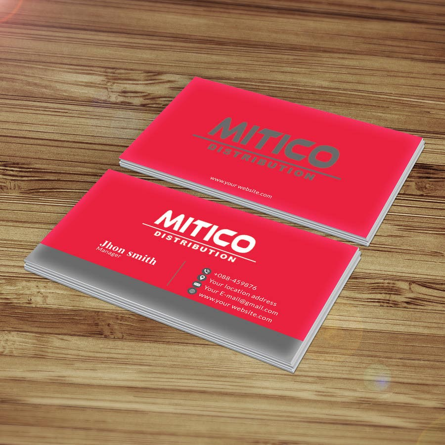 Proposition n°58 du concours Design some Business Cards for Mitico