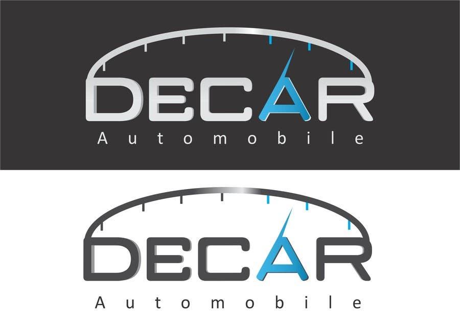 Contest Entry #117 for Logo Design for DECAR Automobile