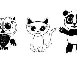nº 21 pour Need 3 cute Animal-Illustrations for Greeting-Cards par iriakluna
