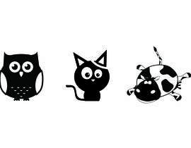 nº 3 pour Need 3 cute Animal-Illustrations for Greeting-Cards par sakhot89