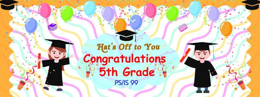 Proposition n°14 du concours Create a Banner for a School Graduation