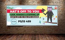 Proposition n° 10 du concours Graphic Design pour Create a Banner for a School Graduation