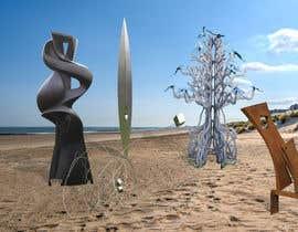 nº 10 pour Put images on beach background par abdussalamsbd251