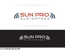nº 8 pour Audio/Video Company Logo par pavelm77