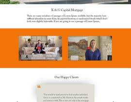 nº 22 pour Re-Design a SINGLE LANDING PAGE - 1 PAGE ONLY par codecorneres