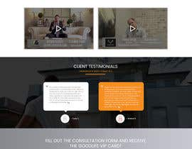 #10 for Re-Design a SINGLE LANDING PAGE - 1 PAGE ONLY by sudpixel