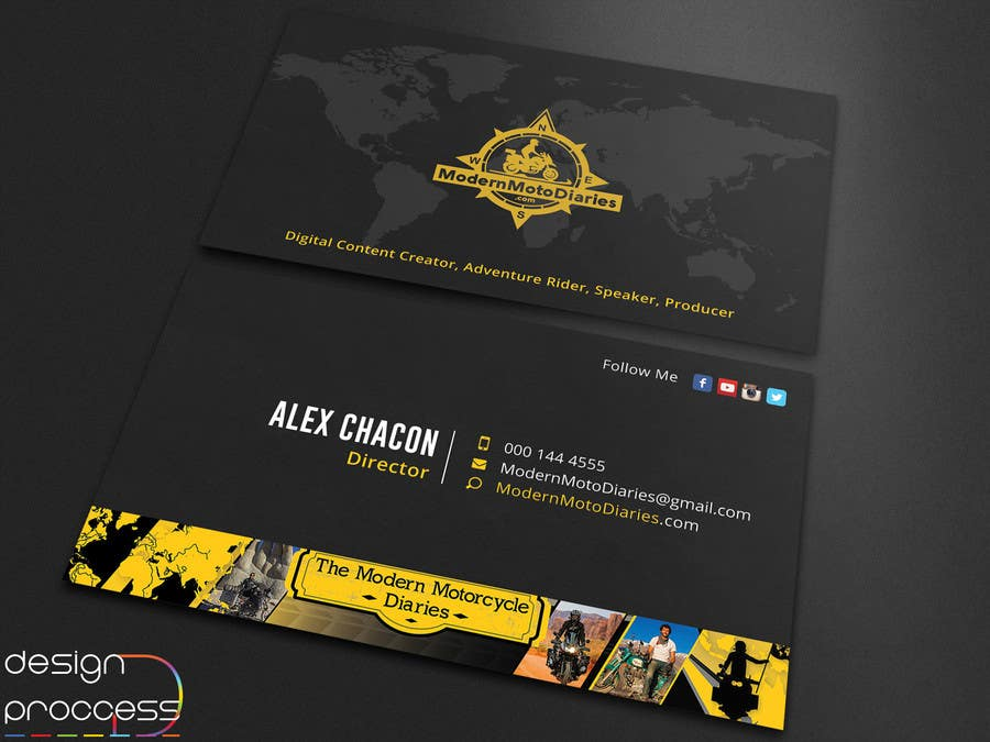 Proposition n°109 du concours Design my Business Card