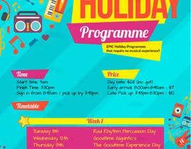 nº 3 pour **EASY BRIEF** Holiday Programme Flyer par raucau