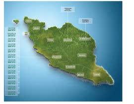 nº 35 pour Infographic Map par harithhamdan