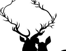 nº 11 pour Illustrate deer silhouette par upgifts