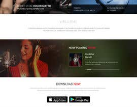 nº 14 pour Design a Website Bootstrap Template for radio station par saidesigner87