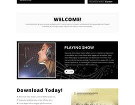nº 15 pour Design a Website Bootstrap Template for radio station par saidesigner87