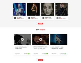 nº 11 pour Design a Website Bootstrap Template for radio station par sudpixel