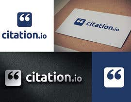 #169 for Design a Logo for citation.io by webull